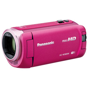 HC-W585M-P パナソニック デジタルビデオカメラ「HC-W585M」(ピンク)