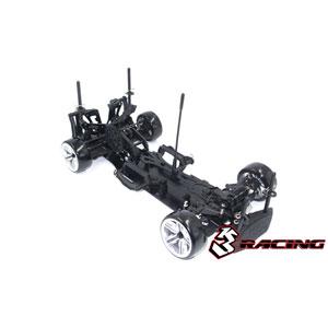 1/10 Sakura D4 ドリフトカー RWD スポーツエディション(ブラック) 【KIT-D4RWDS/BK】 3レーシング