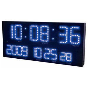 LED-101BU 誠時 電波置き掛け兼用時計 (ブルー) LEDアクラート [LED101BU]【返品種別A】