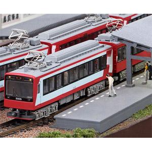 [鉄道模型]モデモ (N) NT161 箱根登山鉄道2000形 グレッシャー・エクスプレス塗装 2017(3両セット)