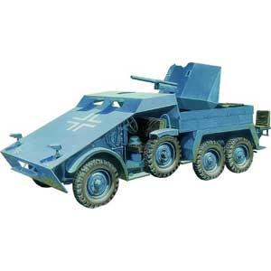 1/35 独・クルップ・プロッツェ3.7cm対戦車自走砲・装甲型【CB35132】 ブロンコ