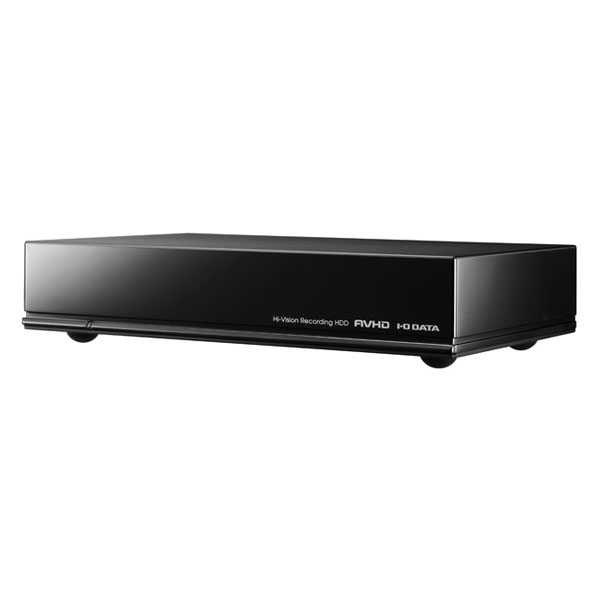 AVHD-UTB2 I/Oデータ USB3.0 外付けハードディスク 2.0TB(ブラック) AVHD-UTBシリーズ