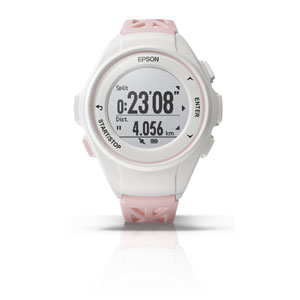 Q-10P エプソン EPSON リスタブルGPS GPSランニングウォッチ ピンク [Q10P]【返品種別B】