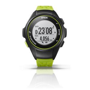 Q-10G エプソン EPSON リスタブルGPS GPSランニングウォッチ グリーン [Q10G]【返品種別B】