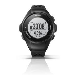 Q-10B エプソン EPSON リスタブルGPS GPSランニングウォッチ ブラック [Q10B]【返品種別B】