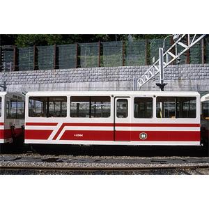 [鉄道模型]ワールド工芸 (HOナロー) 黒部峡谷鉄道 ボハ2500形 密閉型中間客車 組立キット