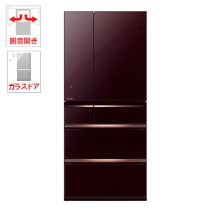 (標準設置料込)MR-WX70C-BR 三菱 700L 6ドア冷蔵庫(クリスタルブラウン) MITSUBISHI 置けるスマート大容量 WXシリーズ