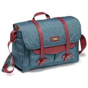AU 中型メッセンジャーバッグ オーストラリアコレクション ナショナルジオグラフィック 2450 (ブルー) NG