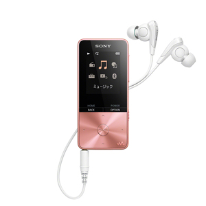 【500円クーポン10/11am1:59迄】NW-S315 PI ソニー ウォークマン S310シリーズ 16GB(ライトピンク) SONY Walkman