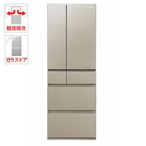 (標準設置料込)NR-F503HPX-N パナソニック 500L 6ドア冷蔵庫(マチュアゴールド) Panasonic エコナビ