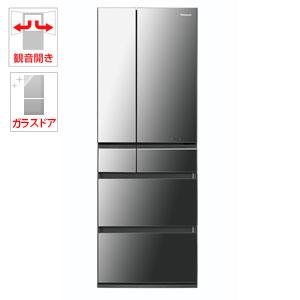 (標準設置料込)NR-F503HPX-X パナソニック 500L 6ドア冷蔵庫(オ二キスミラー) Panasonic エコナビ