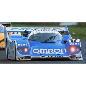 1/43 OMRON Porsche 962C (#17) 1988 WEC IN JAPAN【IG0523】 ignitionモデル