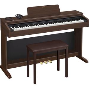 AP-270-BN カシオ 電子ピアノ(オークウッド調)【椅子&ヘッドホン&楽譜集付き】 CASIO CELVIANO(セルヴィアーノ)