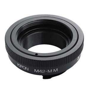 M42-M /M KIPON KIPON マウントアダプター M42-M /M (ボディ側:ライカM/レンズ側:M42)