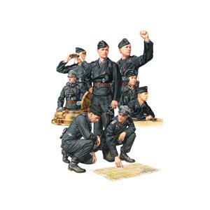 1/35 ミリタリーミニチュアシリーズ No.354 ドイツ国防軍 戦車兵セット【35354】  タミヤ