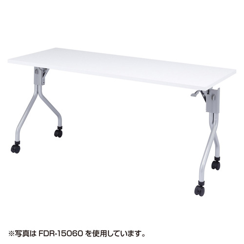 FDR-15045 サンワサプライ フォールディングデスク(150×45cm)ホワイト FDRシリーズ