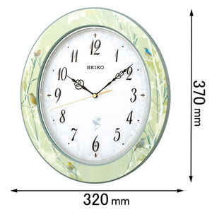 RX214M セイコークロック 電波掛け時計 [RX214M]【返品種別A】