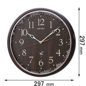 RX215B セイコークロック 電波掛け時計 [RX215B]【返品種別A】