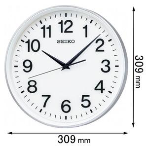 GP217S セイコークロック 衛星電波掛け時計 [GP217S]【返品種別A】