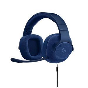 ロジクール G433 7.1有線サラウンド ゲーミングヘッドセット(ブルー) ロジクール [G433BL ユウセンGヘッドセット アオ]