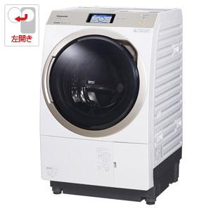 (標準設置料込)NA-VX9800L-W パナソニック 11.0kg ドラム式洗濯乾燥機【左開き】クリスタルホワイト Panasonic エコナビ 温水泡洗浄
