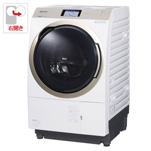 (標準設置料込)NA-VX9800R-W パナソニック 11.0kg ドラム式洗濯乾燥機【右開き】クリスタルホワイト Panasonic エコナビ 温水泡洗浄
