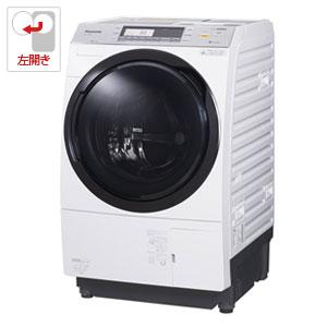 (標準設置料込)NA-VX7800L-W パナソニック 10.0kg ドラム式洗濯乾燥機【左開き】クリスタルホワイト Panasonic 泡洗浄