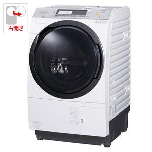 (標準設置料込)NA-VX7800R-W パナソニック 10.0kg ドラム式洗濯乾燥機【右開き】クリスタルホワイト Panasonic 泡洗浄