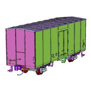 [鉄道模型]トラムウェイ (HO) TW-R6000U 国鉄レム6000未塗装キット 2両セット