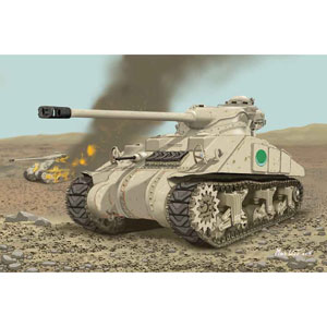 【再生産】1/35 中東戦争 エジプト軍 エジプトシャーマン【DR3570】 ドラゴンモデル