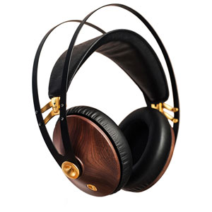 MEZ-99C-WG メゼオーディオ ダイナミック密閉型ヘッドホン(ウォルナット/ゴールド) Meze Audio99 CLASSICS Walnut series