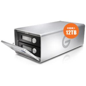0G04096 HGST USB3.0対応 外付けハードディスク 12.0TB G-RAID Removable Thunderbolt 2 USB 3.0 12000 GB Silver JP
