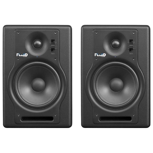 F5 フルイドオーディオ ブックシェルフ型モニタースピーカー(ブラック)【ペア】 FLUID AUDIO Fader Series