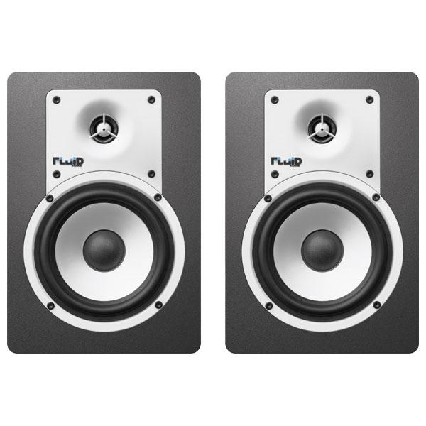 C5BT フルイドオーディオ Bluetooth対応ブックシェルフ型モニタースピーカー(ブラック)【ペア】 FLUID AUDIO CLASSIC SERIES