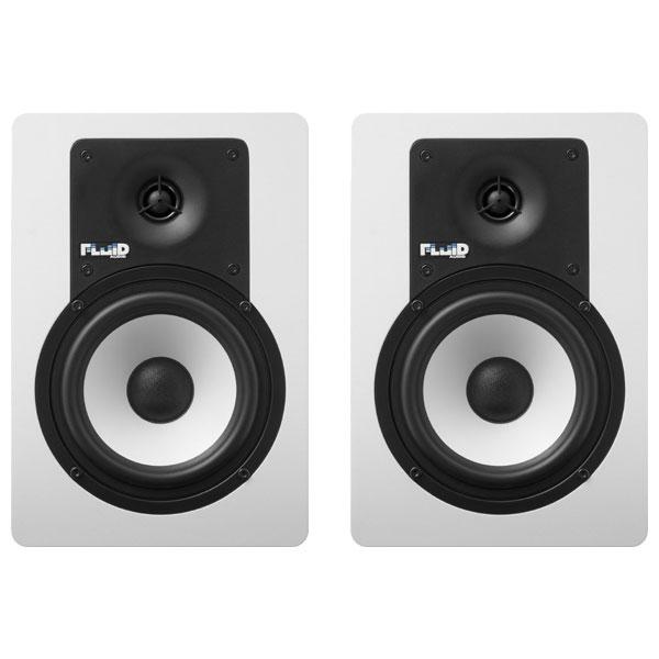 C5BTW フルイドオーディオ Bluetooth対応ブックシェルフ型モニタースピーカー(ホワイト)【ペア】 FLUID AUDIO CLASSIC SERIES