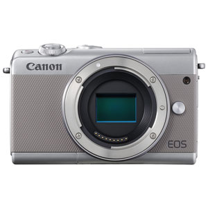 EOSM100GY-BODY キヤノン ミラーレスカメラ「EOS M100」ボディ(グレー)