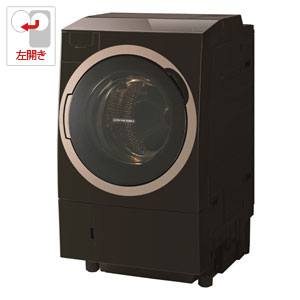 (標準設置料込)TW-117X6L-T 東芝 11.0kg ドラム式洗濯乾燥機【左開き】グレインブラウン TOSHIBA ZABOON