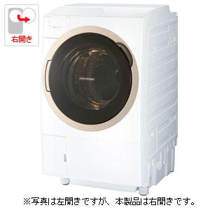 (標準設置料込)TW-117X6R-W 東芝 11.0kg ドラム式洗濯乾燥機【右開き】グランホワイト TOSHIBA ZABOON