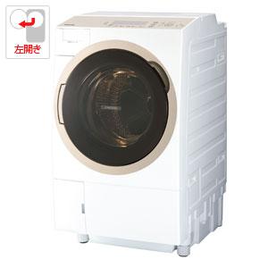 (標準設置料込)TW-117A6L-W 東芝 11.0kg ドラム式洗濯乾燥機【左開き】グランホワイト TOSHIBA ZABOON