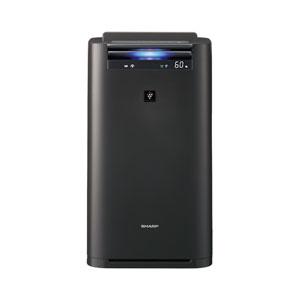 KI-HS70-H シャープ 加湿空気清浄機(空清31畳まで/加湿18畳まで グレー系) SHARP 「高濃度プラズマクラスター25000」搭載
