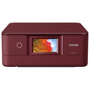 EP-880AR エプソン A4プリント対応 インクジェット複合機(レッド) EPSON Colorio(カラリオ)