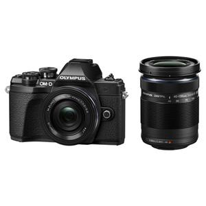 OM-D E-M10MK3WZK BLK オリンパス デジタル一眼カメラ「OM-D E-M10 MarkIII」ダブルズームキット(ブラック)
