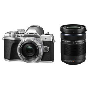 OM-D E-M10MK3WZK SLV オリンパス デジタル一眼カメラ「OM-D E-M10 MarkIII」ダブルズームキット(シルバー)