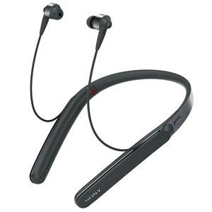 WI-1000X B ソニー ノイズキャンセリング機能搭載Bluetooth対応 ハイブリッド密閉型イヤホン (ブラック) SONY 1000Xシリーズ