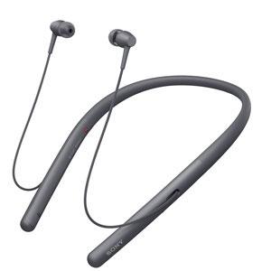 WI-H700 B ソニー Bluetooth対応ダイナミック密閉型イヤホン(グレイッシュブラック) SONY