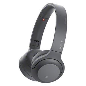 WH-H800 B ソニー Bluetooth対応ダイナミック密閉型ヘッドホン (グレイッシュブラック) SONY h.ear on 2 Mini Wireless