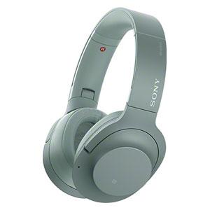 各種クーポンあり 数上限ございます WH-H900N G 全国どこでも送料無料 ソニー ノイズキャンセリング機能搭載Bluetooth対応ダイナミック密閉型ヘッドホン ホライズングリーン NC SONY on 2 h.ear 正規品 Wireless