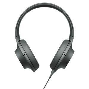 MDR-H600A B ソニー マイク&コントローラー搭載ハイレゾ対応ヘッドホン(グレイッシュブラック) SONY hear on 2