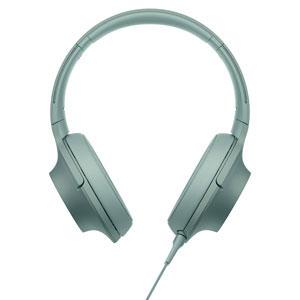 MDR-H600A G ソニー マイク&コントローラー搭載ハイレゾ対応ヘッドホン(ホライズングリーン) SONY hear on 2