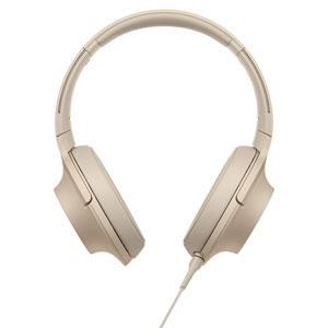 MDR-H600A N ソニー マイク&コントローラー搭載ハイレゾ対応ヘッドホン(ペールゴールド) SONY hear on 2